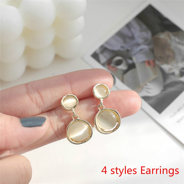 goldplated, Womens Accessories, opalearring, Jewelry