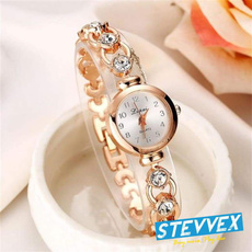 quartz, Watch, Rhinestone, Elegant