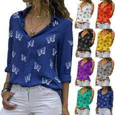 blouse, blouseshirt, Fashion, butterfly