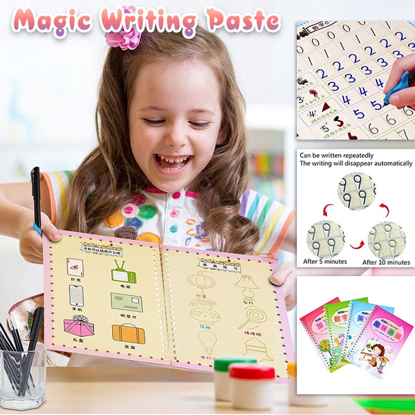 School, practicecalligraphyboard, Magic, magicwrittingboard