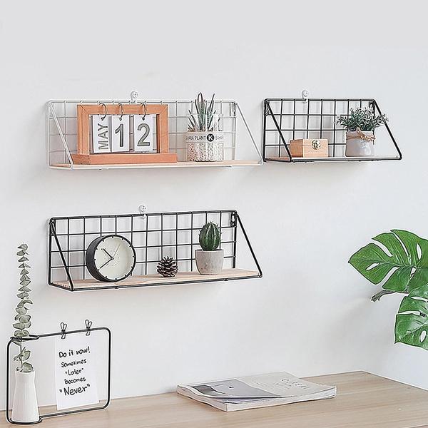 wallironshelf, Home Decor, walldecoration, Shelf