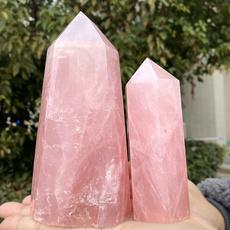 pink, quartz, healingpoint, wand