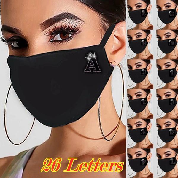 DIAMOND, blackmask, Jewelry, letterdiamondsmask