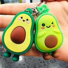 rubberkeychain, greenfruit, Key Chain, Joyería