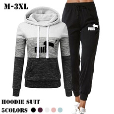 2pieceset, hoodies for women, Ladies Fashion, Sleeve