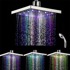 water, topshowersprayhead, topsprayer, multicolorledshowerhead