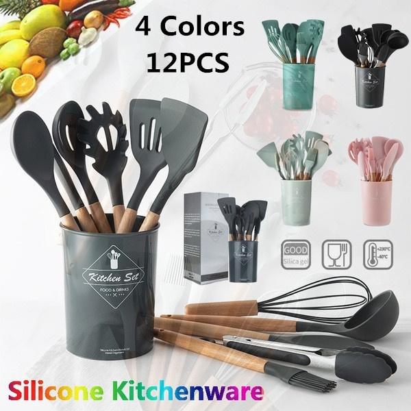 cookingtoolsset, siliconekitchenwaresset, Kitchen & Dining, Cooking