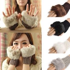 Fashion, fur, Winter, Gloves