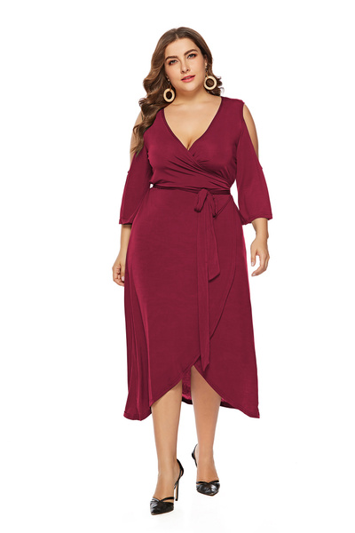 Summer, Plus Size, Lace, Dress