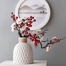 Plastic, decoration, antifallflowervase, Home Decor