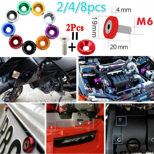 motorcycleaccessorie, decorativescrewgasket, enginescrew, modifiedcaraccessorie