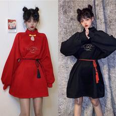 GOTHIC DRESS, Fashion, womencheongsam, Chinese