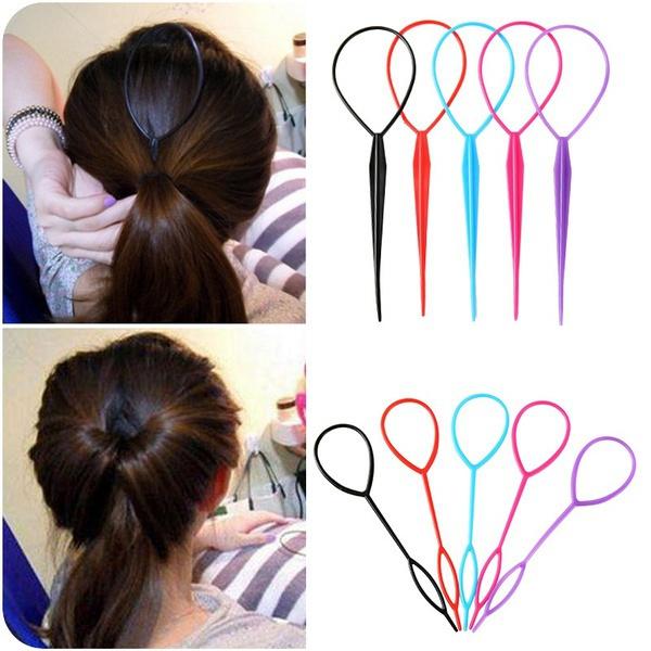 Braids, topsytail, hairbraidingtool, Plastic