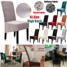 chaircover, Spandex, Home Decor, velvetchaircover