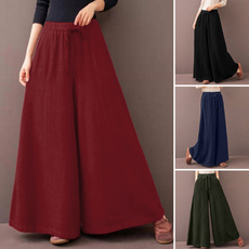 Summer, trousers, cottonpant, Waist