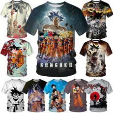 Summer, casual shirt, dragon, Dragonball