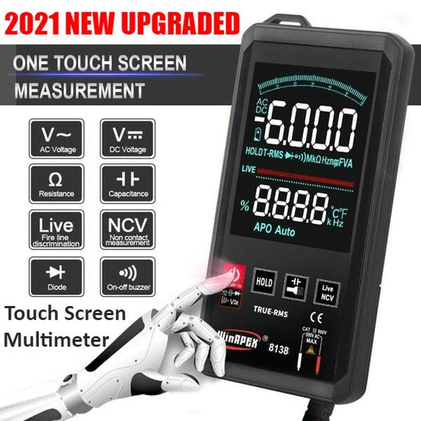 touchscreenmultimeter, digitalmultimeter, voltagemeter, voltagecurrenttesting