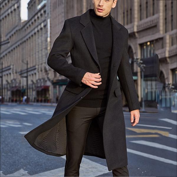 woolen coat, Wool, wool coat, Long Coat