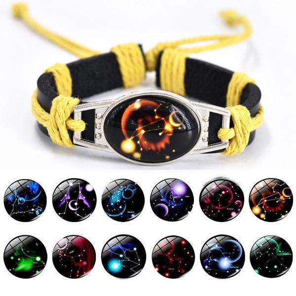waxropebracelet, Jewelry, wovenbracelet, leather
