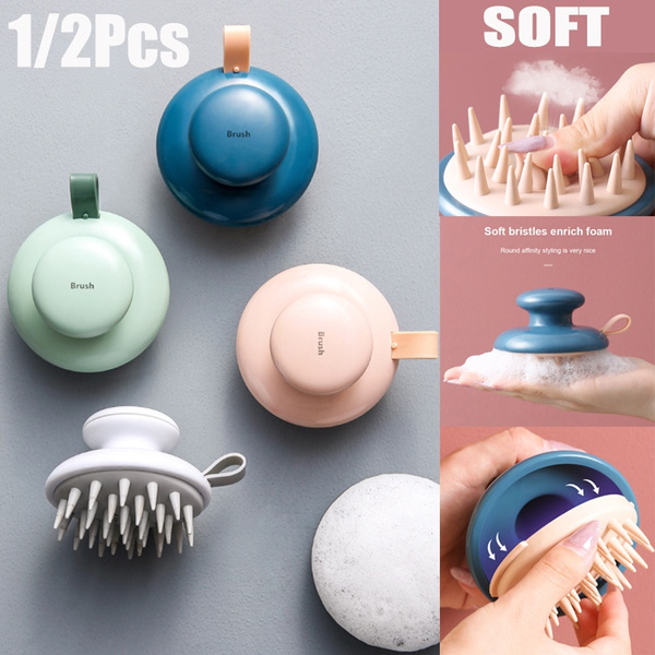 Head, Silicone, Shampoo, massagebrush