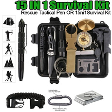Flashlight, Outdoor, camping, wiresaw