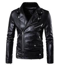 eurocode, slim, leather, Coat