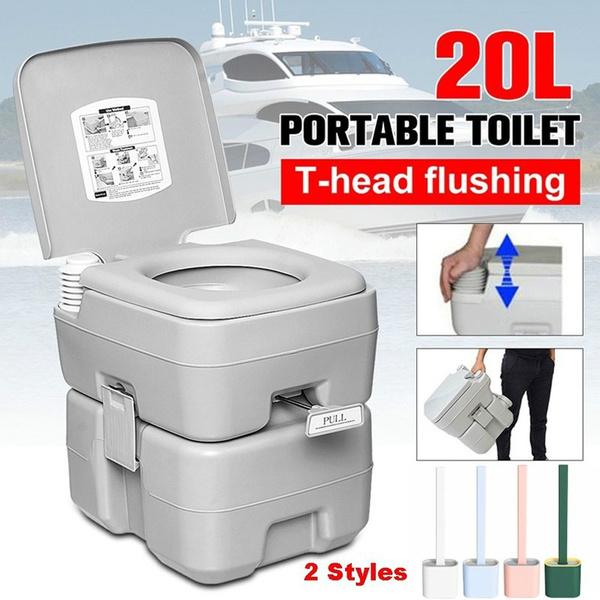 Outdoor, camping, closestool, toiletbrush