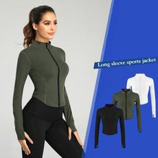 Casual Jackets, Fashion, Yoga, Zip