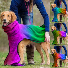 gradientcolor, puppyaccessorie, pet clothes, dog coat