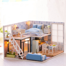3dwoodendollhouse, diy, Toy, Gifts