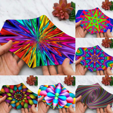 Fashion, Cotton, Colorful, 3dmisalpositionprinted