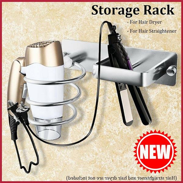 bathroomorganizer, storagerack, Hair Dryers, bathroomrack