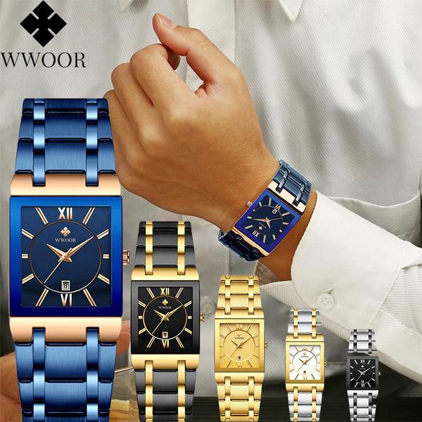 Steel, Fashion, Waterproof Watch, business watch