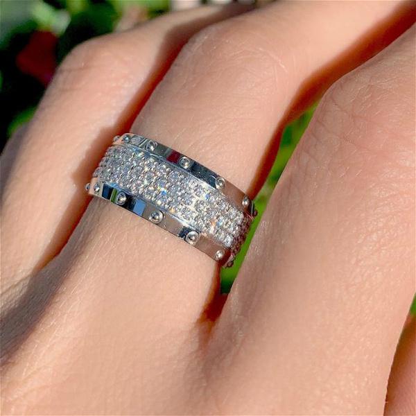 Fashion, wedding ring, Diamond Ring, Sky