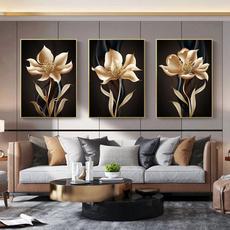 wallartcanva, golden, Decor, posters & prints