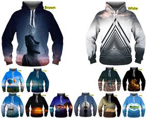 Couple Hoodies, 3D hoodies, Fashion, Winter