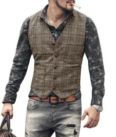 Vest, Fashion, plaidvest, vestformen