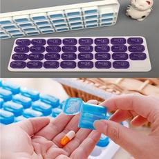 Box, pillbox, 31daystoragepillbox, Tablets