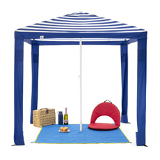 Blues, Outdoor, Umbrella, portable