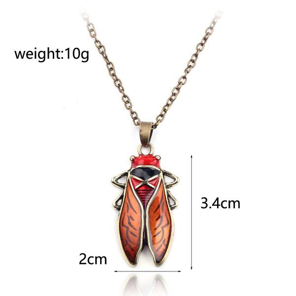 goldneckalce, cicadapendantnecklace, Silver Jewelry, Jewelry