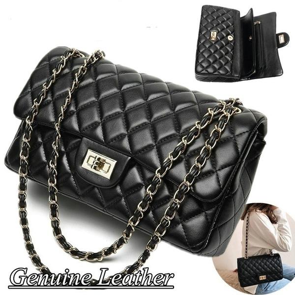 Shoulder Bags, genuine leather bag., Casual bag, Classics