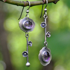 Antique, Women, DIAMOND, Dangle Earring
