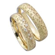 Couple Rings, Steel, Stainless, DIAMOND