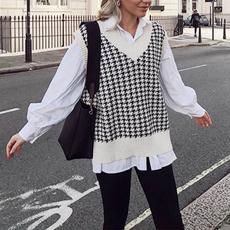 Vest, Plus Size, Tops & Blouses, Long Sleeve