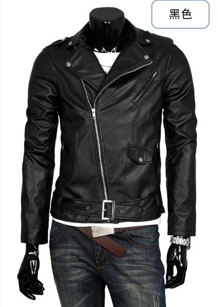 slim, leather, Coat, boutique