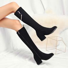 Womens Boots, Winter, long boots, bota