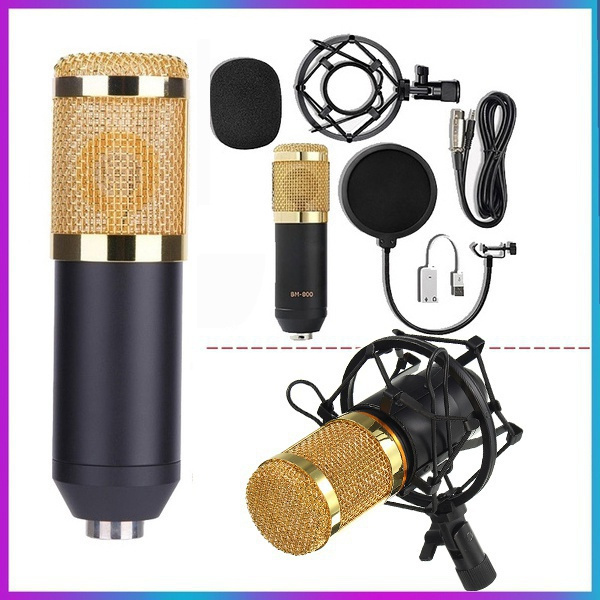 Microphone, studiomicrophone, computer accessories, livewebcast