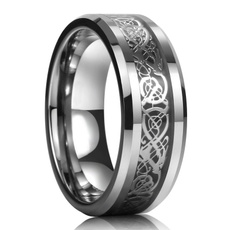 Plus Size, King, Stainless Steel, Celtic