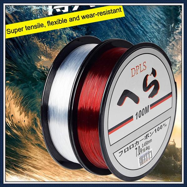 saltwaterfishing, 100m, Fiber, Fishing Tackle