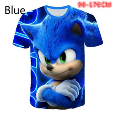 sonic, Plus Size, kids clothes, short sleeves